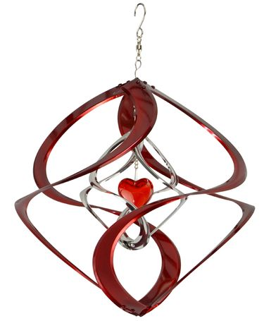 Red Heart Double Cosmix Wind Spinner - Click to enlarge