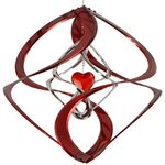 Red Heart Double Cosmix Wind Spinner