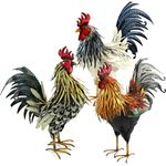 Large Assorted Roosters (Set of 3)