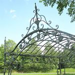 Regal Arched Garden Gazebo - Verdi Green