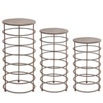 Ring Plant Stands (Set of 3)