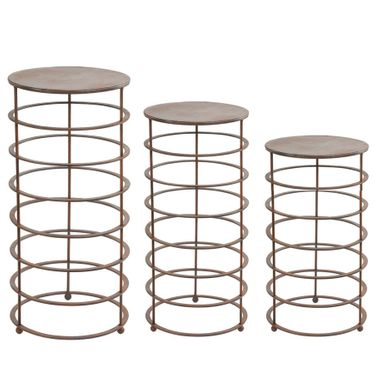 Ring Plant Stands (Set of 3) - Click to enlarge