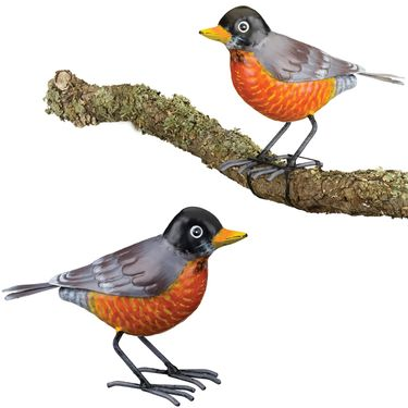 Robin Tree Branch Decor (Set of 2) - Click to enlarge
