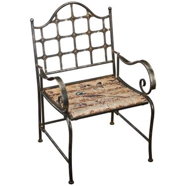 Rustic Bird Chair - Click to enlarge