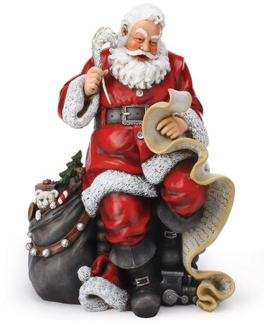 Santa's Good Boys & Girls Statue - Click to enlarge