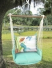 Seafoam Green Tiny Mermaid Hammock Chair Swing Set