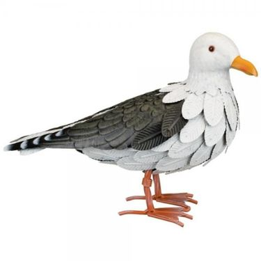 Seagull Metal Statue - Click to enlarge