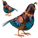 Sedona Quail Birds Decor (Set of 2)