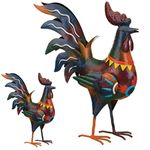 Sedona Rooster Birds Decor (Set of 2)