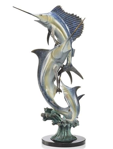 Slam (Marlin & Sailfish) Statue - Click to enlarge