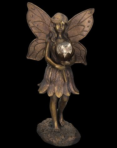 Solar Fairy Garden Statue - Click to enlarge