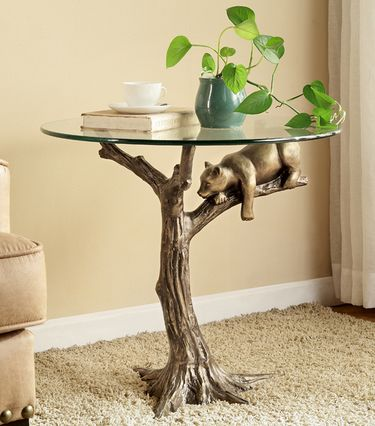 Sleepy Bear End Table - Click to enlarge