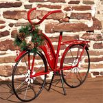 Small Christmas Bicycle Decor