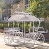 "Cinderella Carriage Plant Stand ""Stephania"""