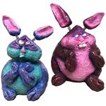 Geeky Smeltzer Bunnies (Set of 2)