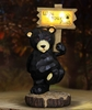 """Solar Bear Statue """"Wipe Your Paws"""""""