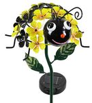 Solar Bee Flower Stake w/LEDs