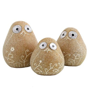 Solar Birds w/Light Up Eyes (Set of 3) - Peru - Click to enlarge