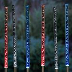 Solar Bubble Chain Stakes (Set of 6) - Color Changing