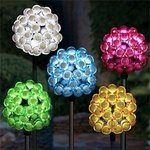Solar Bubble Cluster Plant Stakes (Set of 6)