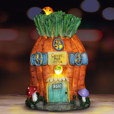 Solar Carrot House - Click to enlarge