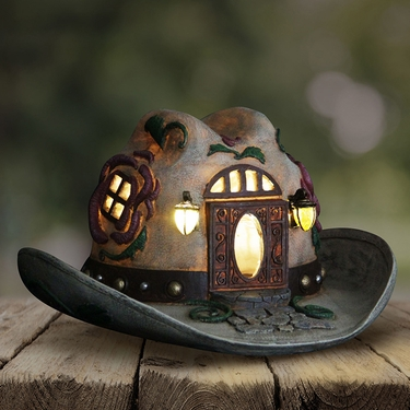 Solar Cowgirl Hat House - Click to enlarge