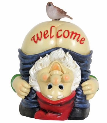 Solar Full Moon Gnome Welcome Sign - Click to enlarge