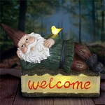 Solar Gnome on Welcome Log