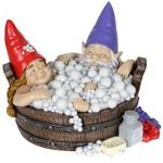 Solar Gnomes in Bubble Bath