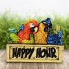 Solar Happy Hour Parrots