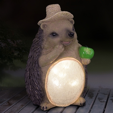 Solar Hedgehog Statue - Click to enlarge