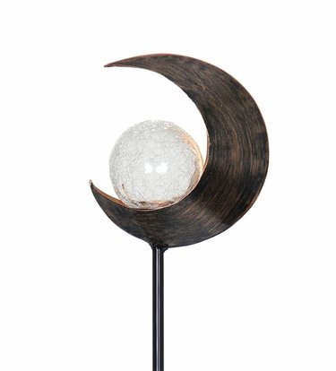 Solar Lunar Torch Garden Stake - Click to enlarge