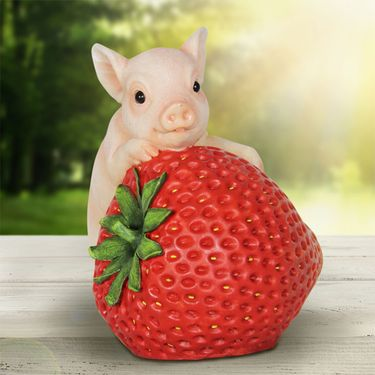 Solar Pig on Strawberry - Click to enlarge