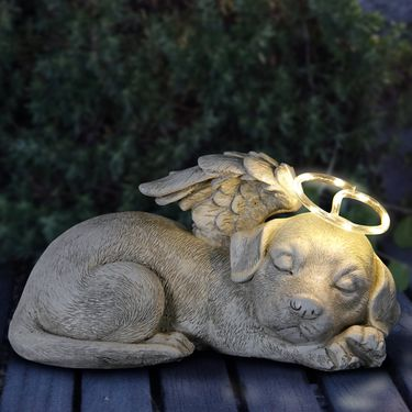 Solar Sleeping Dog Memorial - Click to enlarge