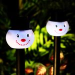 Solar Snowman Pathway Lights  (Set of 24)