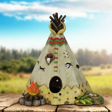 Solar Teepee Decor - Click to enlarge