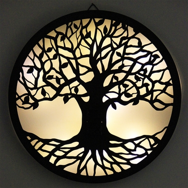 Solar Tree of Life Wall Art - Click to enlarge