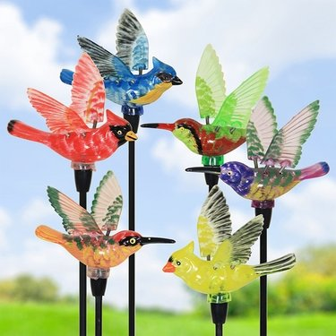 Solar WindyWings Bird Stakes (Set of 6) - Click to enlarge