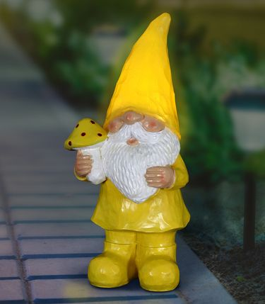 Solar Woodland Gnome - Yellow - Click to enlarge