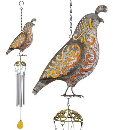 Southwest Quail Chimes (Set of 2) - Click to enlarge