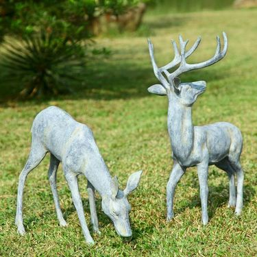 SPI Garden Deer (Set of 2) - Click to enlarge