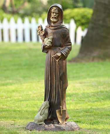 St. Fiacre Garden Statue - Click to enlarge