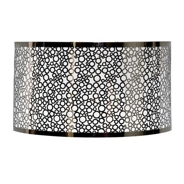 Stainless Steel Bubble Pattern Sconce - Click to enlarge