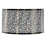 Stainless Steel Bubble Pattern Sconce