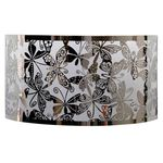 Stainless Steel Butterfly Pattern Sconce