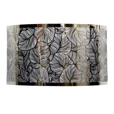 Stainless Steel Leaf Pattern Sconce - Click to enlarge