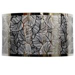 Stainless Steel Leaf Pattern Sconce