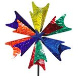 Colorful Starburst Wind Spinner