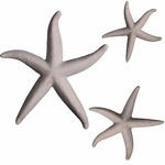 Starfish Decor (Set of 3) - Roman Stone