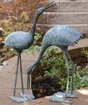 Stately Garden Cranes (Set of 2)